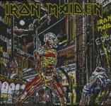 kleiner Aufnäher Iron Maiden Somewhere in Time