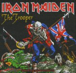 kleiner Aufnäher Iron Maiden The Trooper