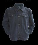 Jeans Jacke All the Aces Vintage schwarz