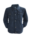 Jeans Jacke Vintage schwarz Modell Ace of Spades