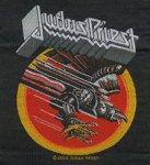 kleiner Aufnäher Judas Priest Screaming for Vegeance Album Cover