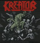 kleiner Aufnäher Kreator Pleasure to Kill