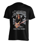 T-Shirt Motörhead Iron Cross Stone Deaf Forever