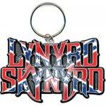 Schlüsselanhänger Lynyrd Skynyrd Flag Logo