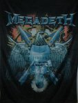 Flagge Megadeth Eagle