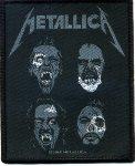 kleiner Aufnäher Metallica Undead