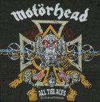 kleiner Aufnäher Motörhead All the Aces