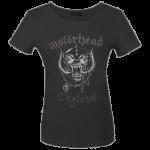 Girlie Shirt Motörhead England ( Glitter )