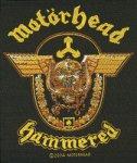 kleiner Aufnäher Motörhead Hammered
