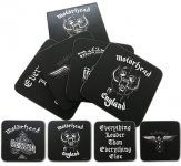 Untersetzer Motörhead Set Classic Logos