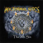 Aufkleber NOCTURNAL RITES The 8th Sin
