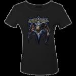 Girlie Shirt Overkill Bat Wings Flag M