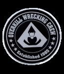 kleiner Aufnäher Overkill Wrecking Crew
