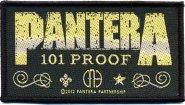 kleiner Aufnäher Pantera 101 Proof