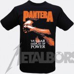 T-Shirt Pantera Vulgar Display of Power ( red )