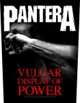 Rückenaufnäher Pantera Vulgar Display of Power