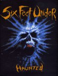 kleiner Aufnäher Six Feet Under Haunted
