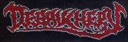 kleiner Aufnäher Debauchery Old Death Metal Logo