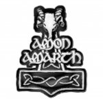 Pin Amon Amarth Thors Hammer