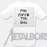 T-Shirt Pink Floyd The Wall