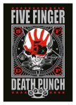 Flagge Five Finger Death Punch Skull