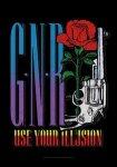 Flagge Guns'n Roses GNR Logo