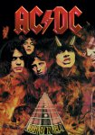Flagge AC/DC Highway to Hell