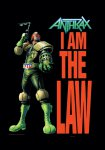 Flagge Anthrax I am the Law