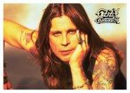 Flagge Ozzy Osbourne Portrait