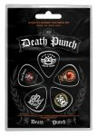 Plektrum Set Five Finger Death Punch Logo