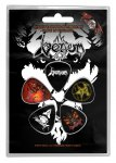 Plektrum Set Venom Black Metal