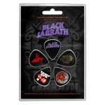 Plektrum Set Black Sabbath Classic Logos
