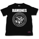 Kids Shirt Ramones Seal Logo