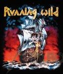 Kleiner Aufnäher Running Wild Under Jolly Roger