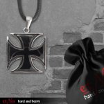 Edelstahlanhänger Iron Cross