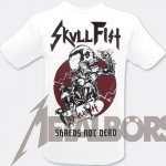 T-Shirt Skull Fist Shreds XXL
