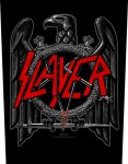 Rückenaufnäher Slayer Black Eagle