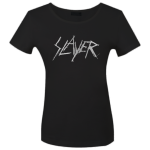 Girlie Shirt Slayer Silver Logo M