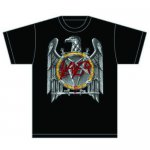 T-Shirt Slayer Silver Eagle Cut Out