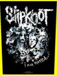 Rückenaufnäher Slipknot I am Hated