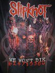 Flagge Slipknot We won\'t Die.....