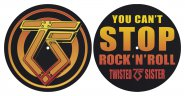 Slipmat Twisted Sister You can't stop / Logo