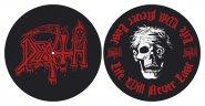 Slipmat Death Red Logo