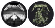 Slipmat Metallica Master of Puppets / Justice for all