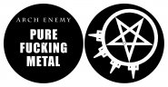 Slipmat Arch Enemy Pure F***ing Metal