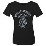 Girlie Shirt Sons of Anarchy Classic Logo
