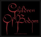 kleiner Aufnäher Children of Bodom Blood Logo