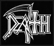 kleiner Aufnäher Death Logo