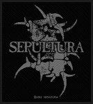kleiner Aufnäher Sepultura Grey Logo