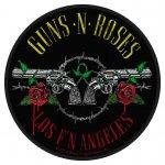 kleiner Aufnäher Guns'n Roses Los Angeles ( rund )